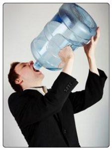 שתיה מרובה של מים